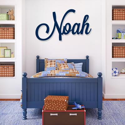 Large Name Wall Art