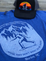 Load image into Gallery viewer, Not All Who Wander Are Lost Bigfoot Shirt