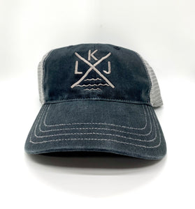 """Making Waves"" Lake James Hat"