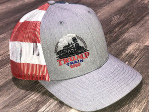 Trump Train American Flag Hat