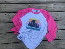 Load image into Gallery viewer, Sunset Raglan Shirt