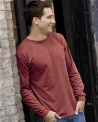 COMFORT COLORS LONG SLEEVE - RED