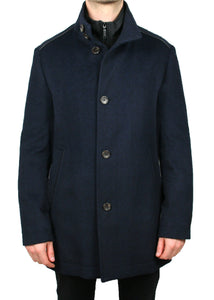 2 Campbell Blue Neat Coat