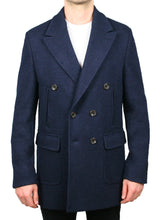 Load image into Gallery viewer, Cooper Stretch Boiled Wool Peacoat