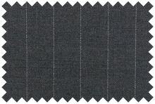 Load image into Gallery viewer, P367S1S - Grey Pinstripe Pants