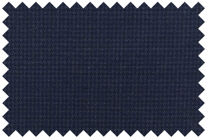 Blue Micro Houndstooth Pants