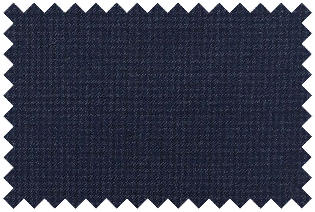P371S2S - Blue Micro Houndstooth Pants