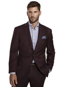 7363SPS - Bordeaux Plain Jacket