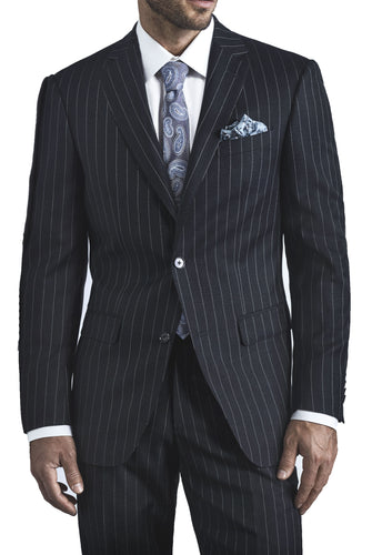 7368S6S - Charcoal Pinstripe Jacket