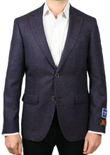 Load image into Gallery viewer, Bottoli Copper and Blue Textured Neat Jacket