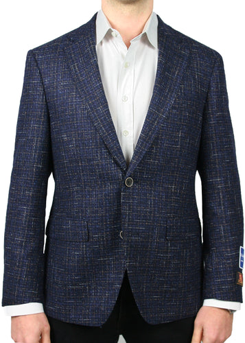 Bottoli Navy Bouclé Jacket