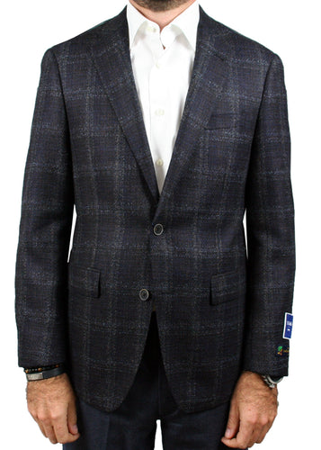 Brown and Blue Windowpane