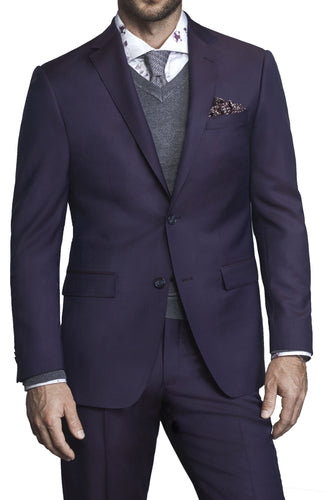ZI222R - Zignone Berry Plain Suit