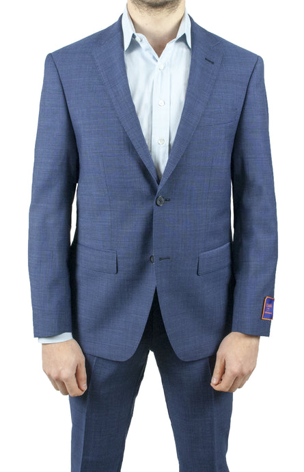 Blue Micro Design Suit