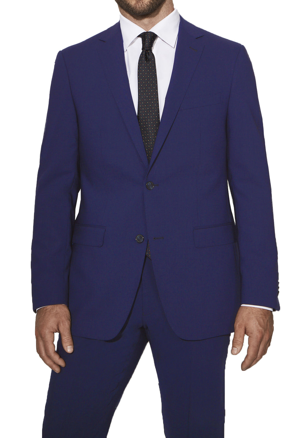 4J00SH - Hot Blue Smart Jacket