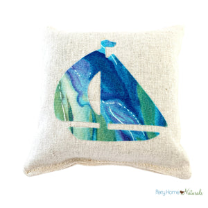 Moose and bear balsam sachets in holiday plaid by Perry Home Naturals