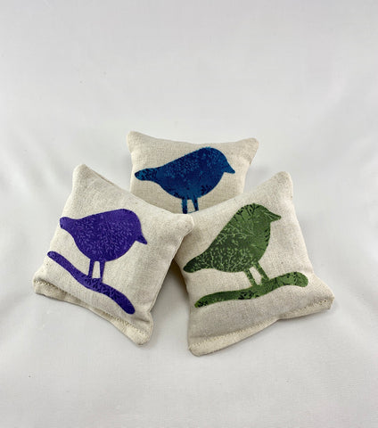 Birds of a Feather Lavender Sachet Bundle - Chickadees