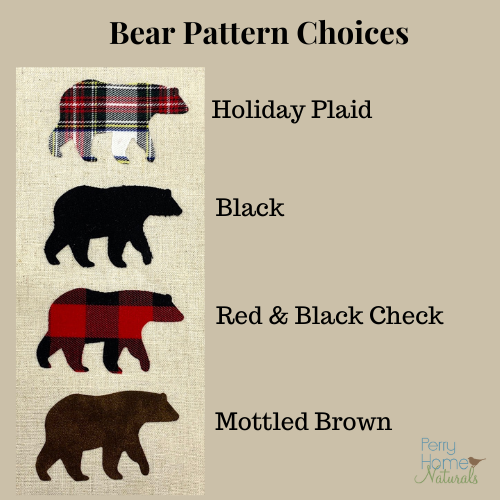 Bear Sachet - Choice of scent, size, and color