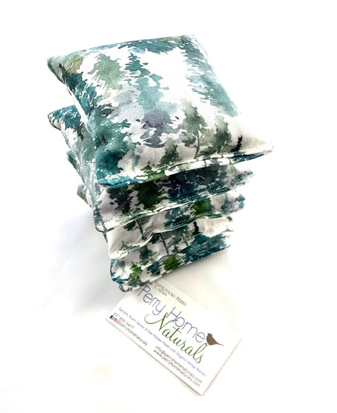 Balsam Fir Sachet Set of 5 - Water Color Woods