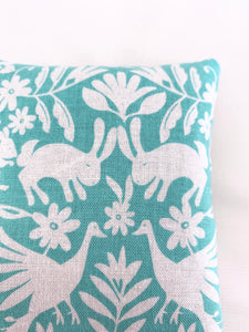 Lavender Sachet Trio with Spring Forest Friends in Teal