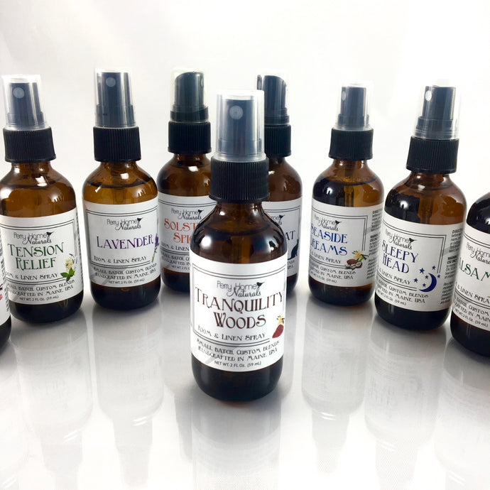 Tranquility Woods Room and Linen Spray - Sandalwood, Vanilla & Nag Champa Blend