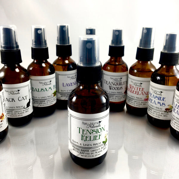 Tension Relief Organic Room and Linen Spray - Lavender Peppermint & Chamomile