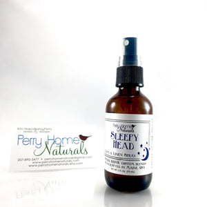 Sleepy Head Organic Room and Linen Spray - Aromatherapy Room Spray