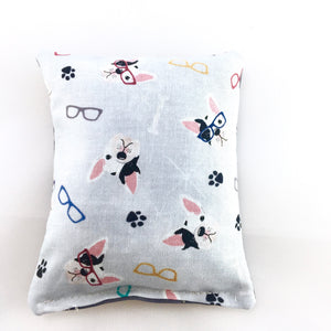 Cotton Print Sachet with French Bulldog Print - Choice of Scent
