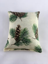 Load image into Gallery viewer, Maine Balsam Fir Pillow with Pine Print