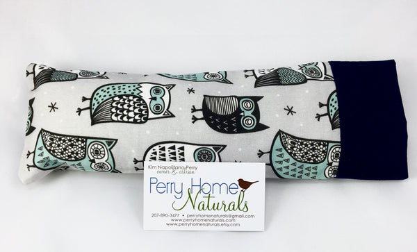 Aromatherapy Eye Pillow - Sleepy Owls - Choice of Blend