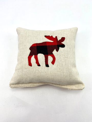 Moose Sachet - Choice of Size, Scent, and Applique Pattern