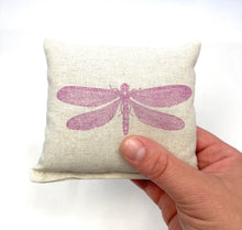 Load image into Gallery viewer, Dragonfly Design Scented Pillow - Choice of Ink Color and Scent