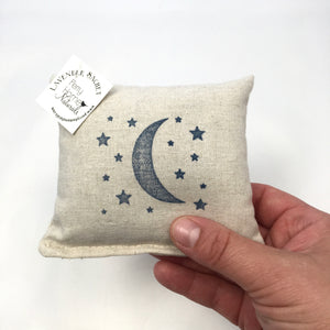 Moon and Stars Design Sachet - Choice of Scent and Ink Color