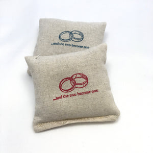 Wedding Rings Design Sachet - Choice of Ink and Scent