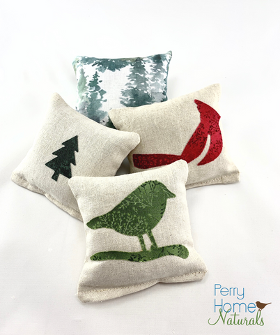 Balsam Fir Sachet Set - Maine Forest
