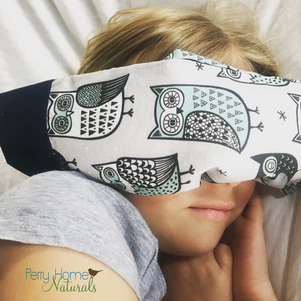 Eye Pillow with Choice of Herbal Blend - Sleepy Sheep