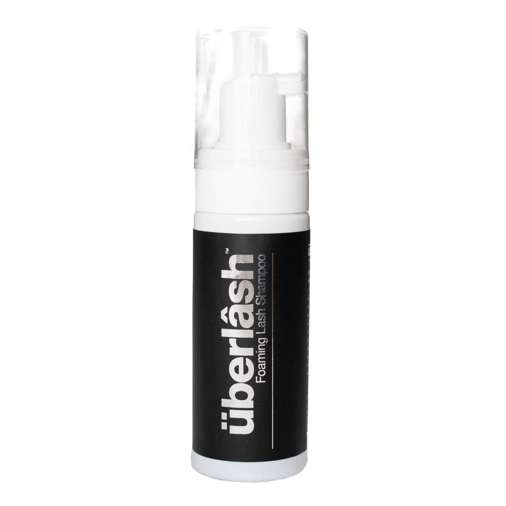 uberlash foaming lash shampoo 50ml