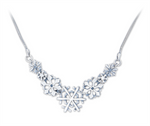 Snowflake Necklace No 1