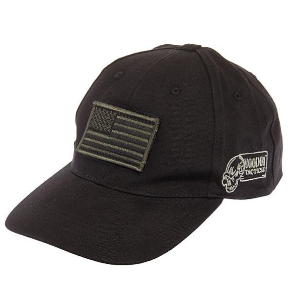 Voodoo Tactical Black USA Cap