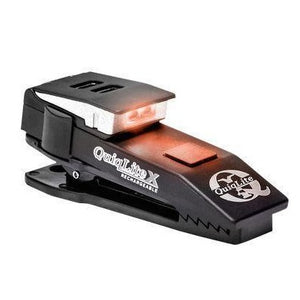 QuiqLiteX USB Rechargeable LED - Red&White