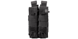 5.11 Double Pistol Mag Pouch Bungee Cover Black - 56155
