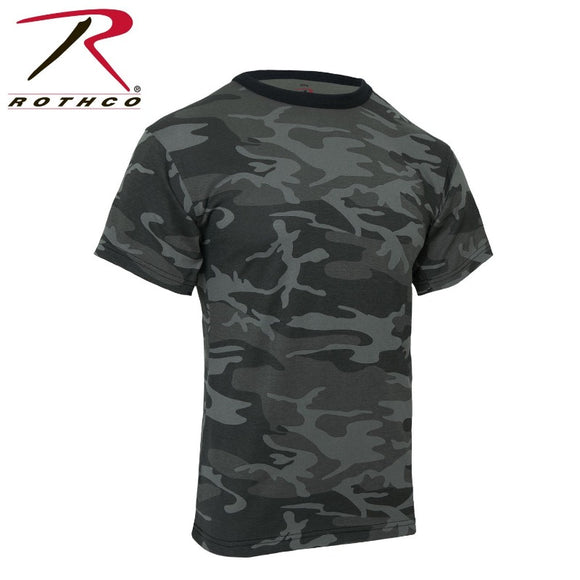 Rothco  Midnight Blue Camo T-Shirt