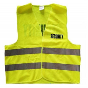 Hi-Vis Vest with SECURITY Front and Back