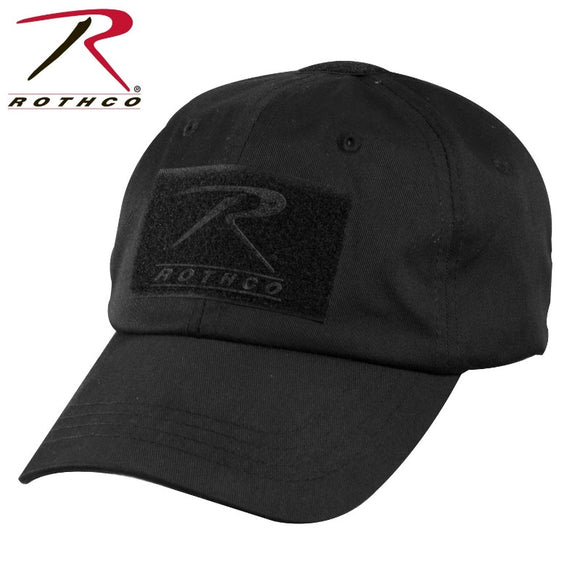 Rothco - Tactical Black Hat with Velcro
