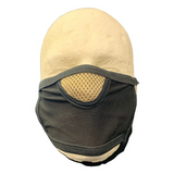 Black Cloth Reusable Face Mask - 3ct