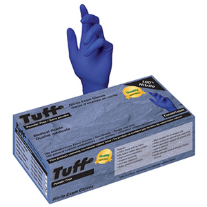 TUFF Nitrile Exam Gloves 100ct - Cobalt