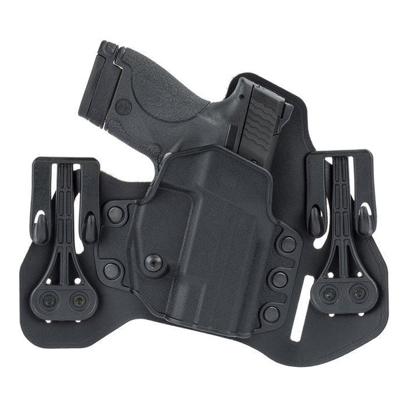 BLACKHAWK Leather Tuckable Pancake Holster S and W 9mm