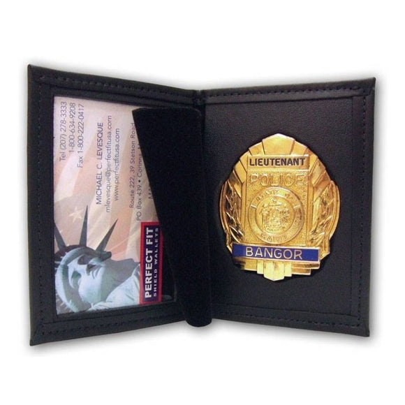 perfect fit dress badge wallet