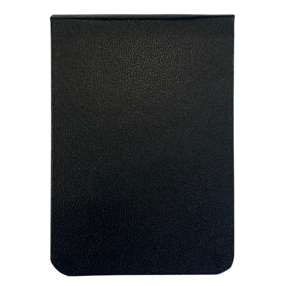 triform leather memo book cover