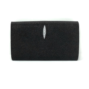 Elizabeth: Caviar Stingray- Black
